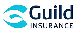 This is the logo of Guild Insurance. It has the words Guild Insurance against a white background. Guild Insurance are the conference dinner and photo booth sponsor.