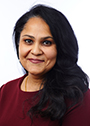 This is a photograph of Professor Swwathi Kiran, invited speaker at the Speech Pathology Australia National Conference 2020 in Darwin